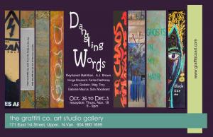 Dangling Words, A Group Exhibit